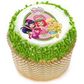 "Strawberry Shortcake 2"" Edible Cupcake Topper (12 Images)"
