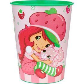 Strawberry Shortcake Plastic Party Cup (each)