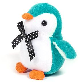 Stuffed Turquoise Penguin (Each)