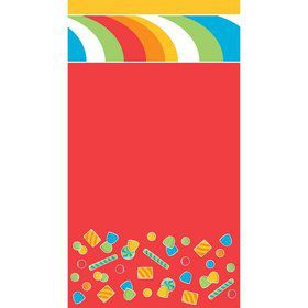 "Sugar Buzz Tablecover, Plastic 54""X108"""
