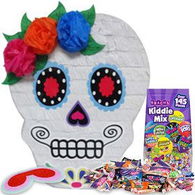 Sugar Skull Pinata Kit