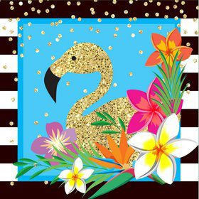 Summer Paradise Sparkle Lunch Napkin (16)