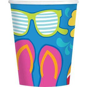 Summer Splash 9Oz Cups (18 Pack)