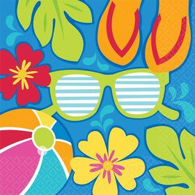 Summer Splash Luncheon Napkins (36 Pack)