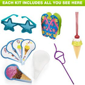 Summer Treats Deluxe Favor Kit (for 1 Guest)