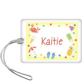 Summer Treats Personalized Bag Tag (each)