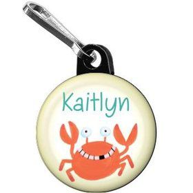 Summer Treats Personalized Mini Zipper Pull (each)