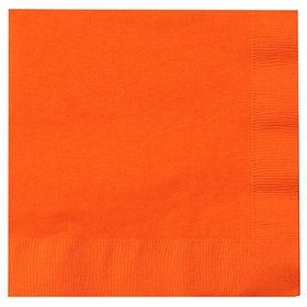 Sunkissed Orange (Orange) Lunch Napkins