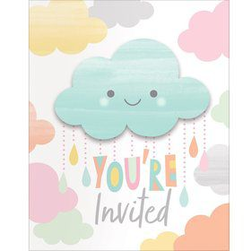 Sunshine Baby Showers Invitation (8)