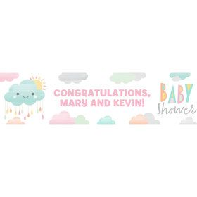 Sunshine Showers Personalized Banner (Each)