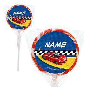 "Super Charged Personalized 2"" Lollipops (20 Pack)"