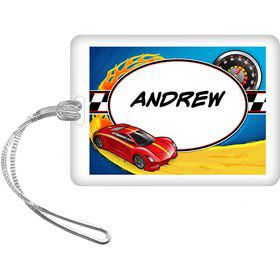 Super Charged Personalized Bag Tag (Each)
