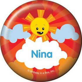 Super Happy Personalized Button (each)