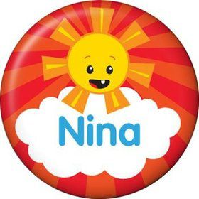 Super Happy Personalized Mini Button (each)