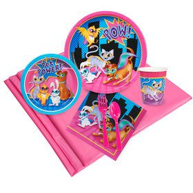 Super Hero Pets Party Pack 24