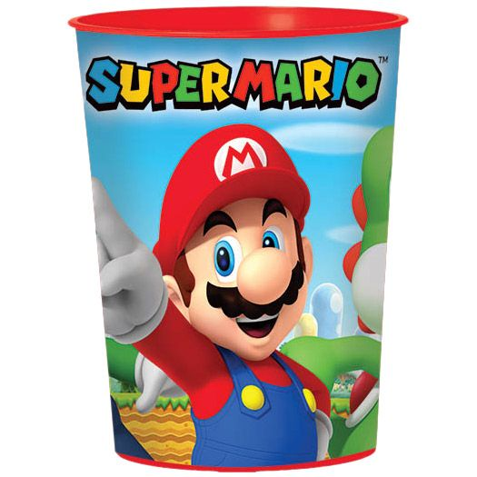 Super Mario 16 oz Favor Cup (each) BB421554
