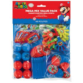 Super Mario 48 Pc Mega Mix Value Pack Favors
