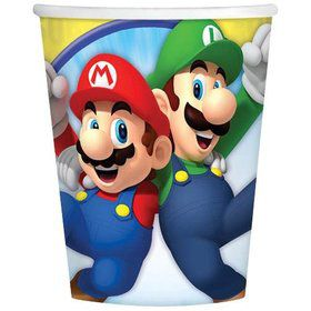 Super Mario 9oz Cups (8 Pack)