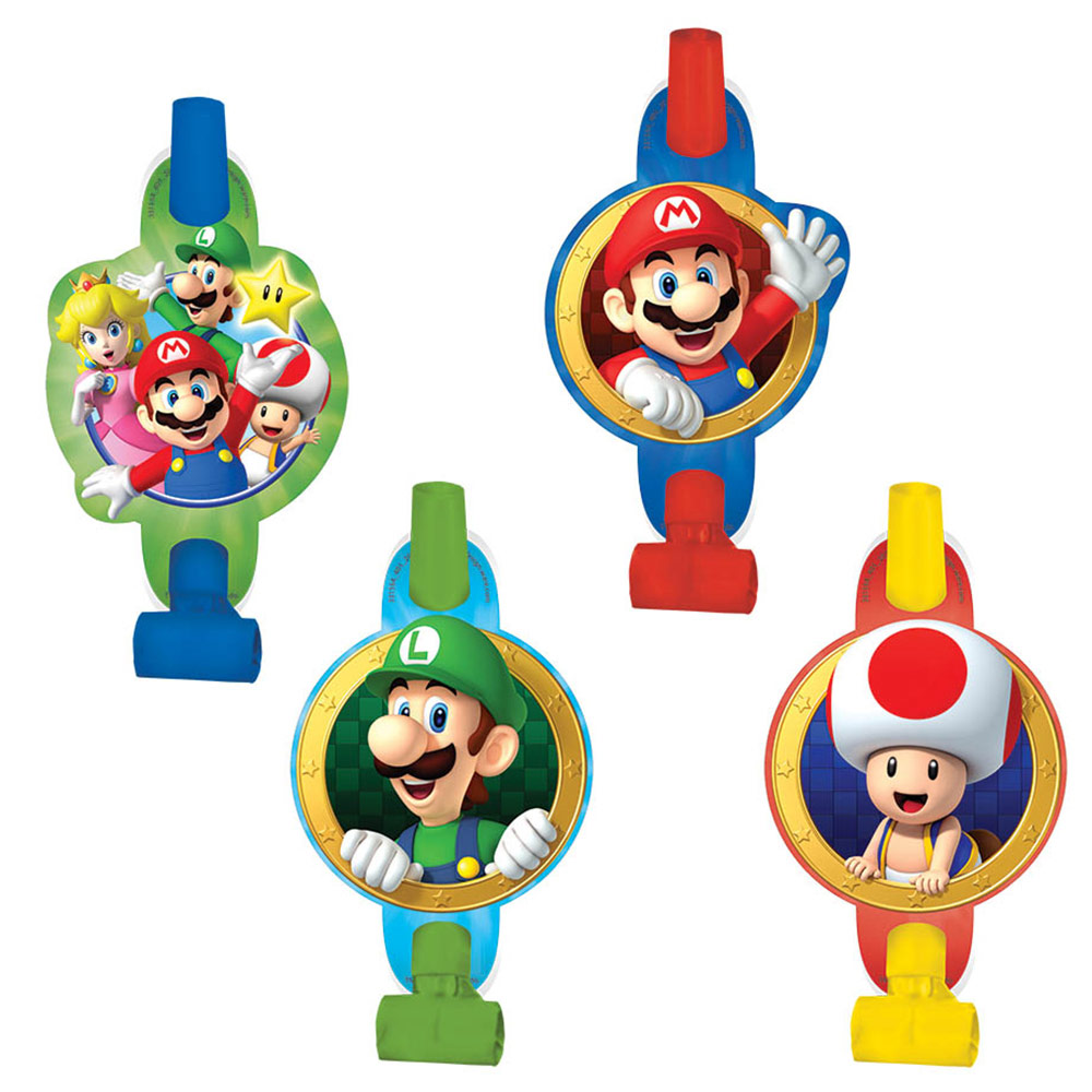 Super Mario Blowouts (8 Pack) BB331554