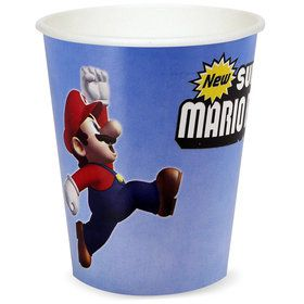 Super Mario Bros. 9 oz. Cups