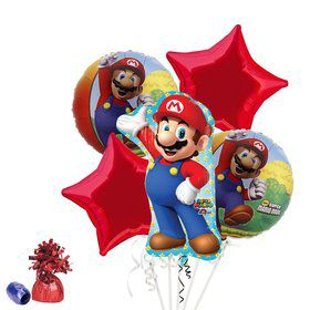 Super Mario Bros. Balloon Bouquet Kit