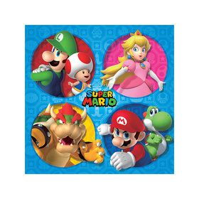 Super Mario Bros. Beverage Napkins