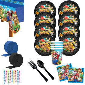 Super Mario Bros Bowser Deluxe Tableware Kit (Serv