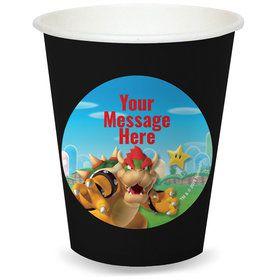 Super Mario Bros. Bowser Personalized Cups (8)