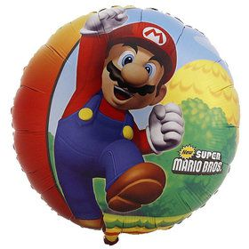 Super Mario Bros. Foil Balloon