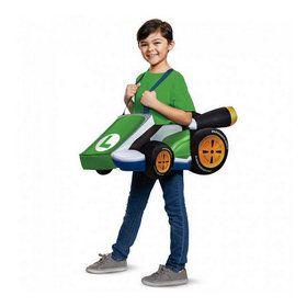 Super Mario Bros. Luigi Kart Child Costume