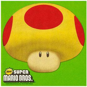 Super Mario Bros. Lunch Napkins