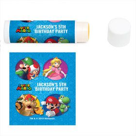 Super Mario Bros. Personalized Lip Balm (12 Pack)