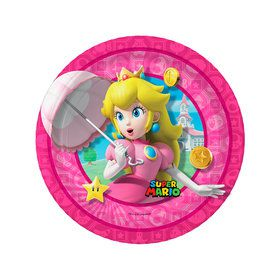 Super Mario Bros. Princess Peach Dessert Plates