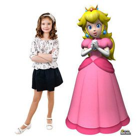 Super Mario Bros. Princess Peach Standup - 5' Tall