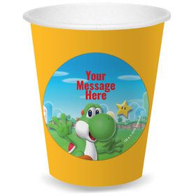 Super Mario Bros. Yoshi Personalized Cups (8)