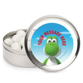 Super Mario Bros. Yoshi Personalized Mint Tins (12 Pack)