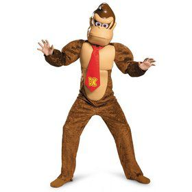 Super Mario Brothers Donkey Kong Deluxe Kids Costume