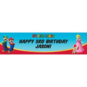 Super Mario Party Personalized Banner (Each)