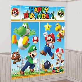 Super Mario Scene Setters?Wall Dec. Kit