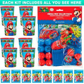 Super Mario Standard Favor Kit (Each)