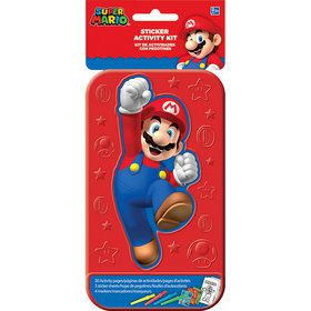 Super Mario Sticker Activity Box