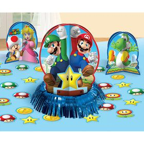 Super Mario Table Decorating Kit