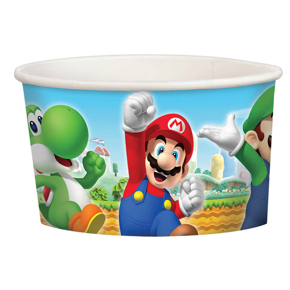 Super Mario Treat Cups (8 Pack) - Party Supplies BB431554