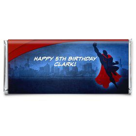 Super Superhero Personalized Candy Bar Wrapper (Each)