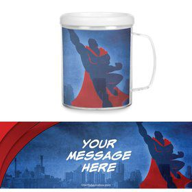 Super Superhero Personalized Favor Mugs (Each)