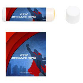 Super Superhero Personalized Lip Balm (12 Pack)