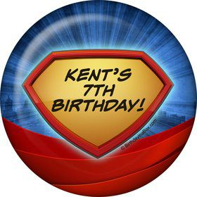 Super Superhero Personalized Magnet (Each)