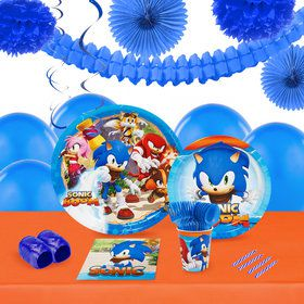 Sonic Boom 16 Guest Tableware Decoration Kit