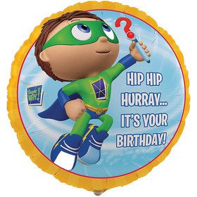 Super Why Foil Balloon