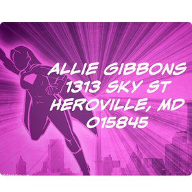 Supergirl Personalized Address Labels (Sheet Of 15)